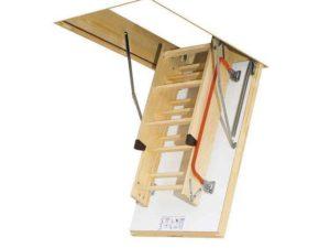 Термоизоляционная складная лестница LTK Energy