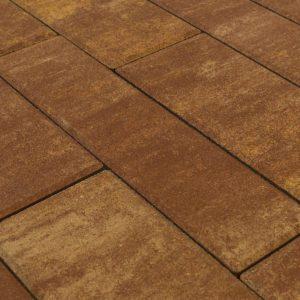 Тротуарная плитка BRAER Домино, Color Mix Тип 1 «КАНЬОН»