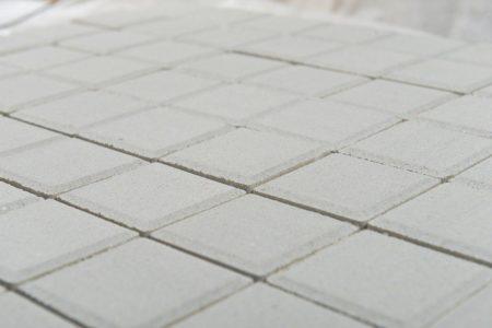 Тротуарная плитка BRAER Лувр, Белый