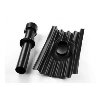 Вентиляционная труба черная Ондулин SMART /ондулин/