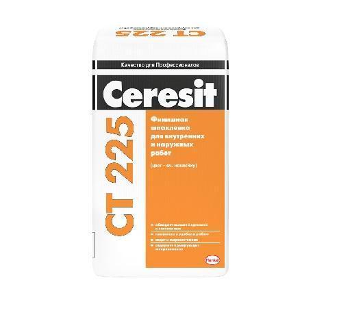 Шпаклевка финишная СТ 225 Ceresit