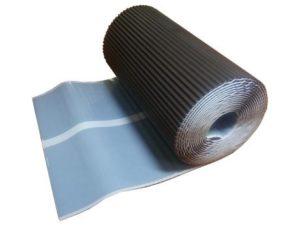 Лента для примыканий гофрированная Mage F1 A-Flex Al-алюминий 0,28*5 м