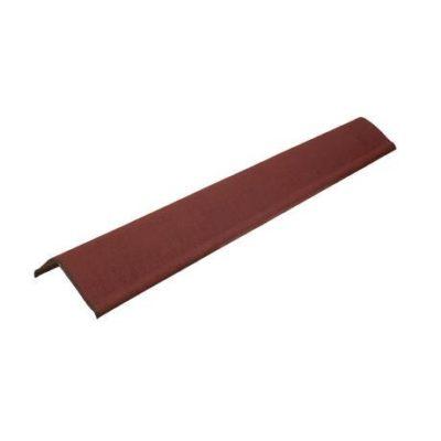 Щипцовый элемент Ондулин Черепица 1000*135*65 мм красный