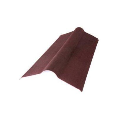 Конек 1000*420 мм Onduline красный