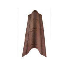Конек L=1060 мм Onduvilla коричневый 3D