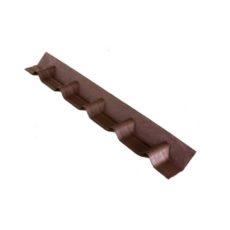 Покрывающий фартук L=1020 мм Onduvilla коричневый 3D