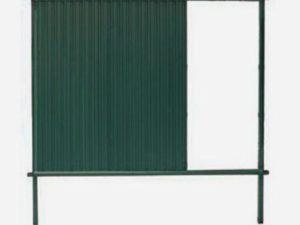 Стандарт RAL 6005 (высота 2,0 м)