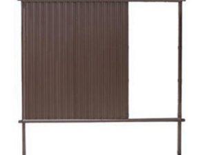 Стандарт RAL 8017 (высота 1,6 м)