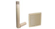 Дефлекторы цокольные и вентиляционные решетки