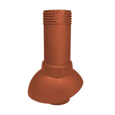 Труба неизолированная канализационная с колпаком 110 H=300 мм Vilpe