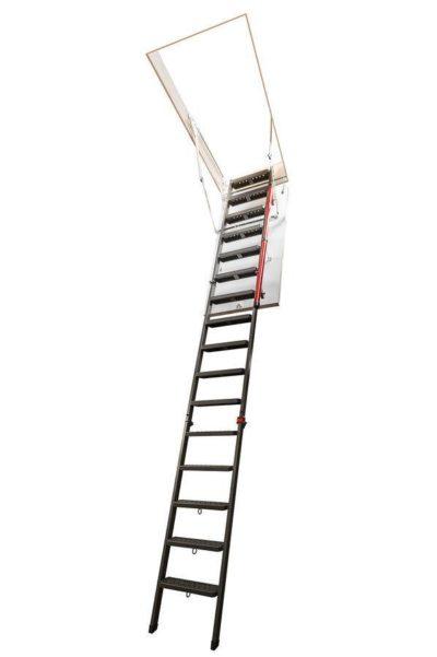Складная металлическая чердачная лестница FAKRO LMP