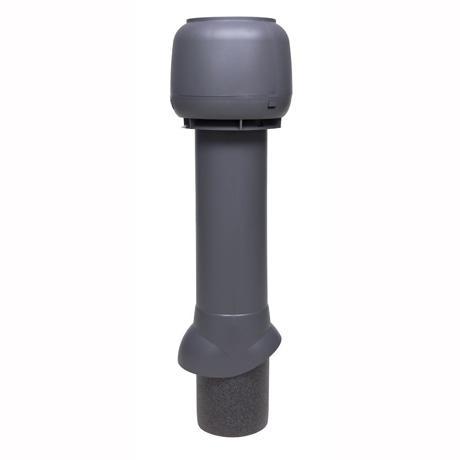 Труба изолированная вентиляционная с колпаком 125/160 H=700 мм Vilpe