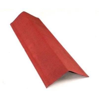 Щипцовый элемент 1000*145*145 мм Onduline красный