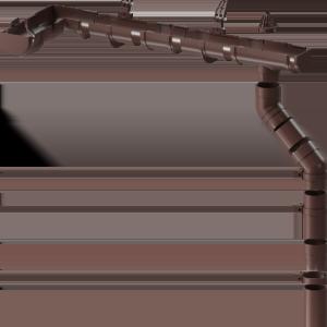 Водосточная система Docke Premium - гранат