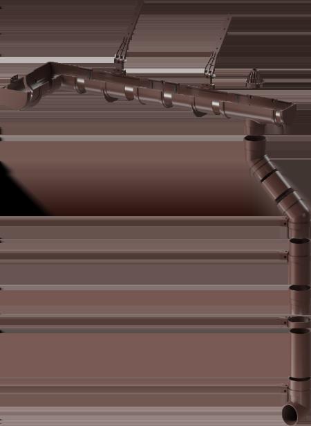 Водосточная система Docke Premium