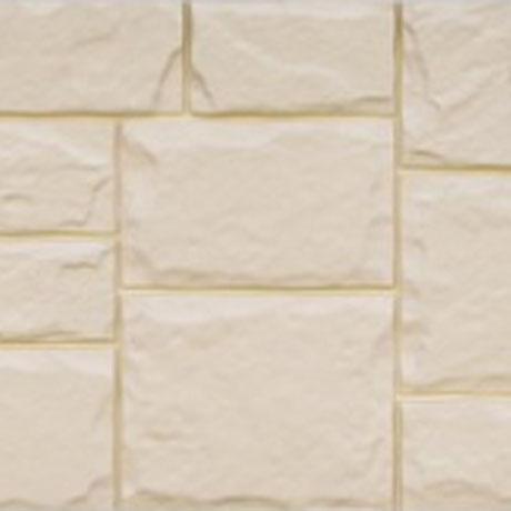 Фасадная панель 982*383 Grand Line Крупный камень Бежевый
