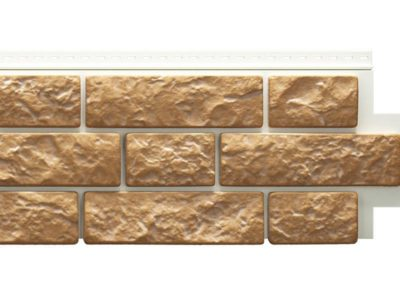 """Сайдинг-панель Blockhaus D4,7T виниловый ( блок-хаус ) 1809*285 Docke LUX """"под камень"""" BERGART"""