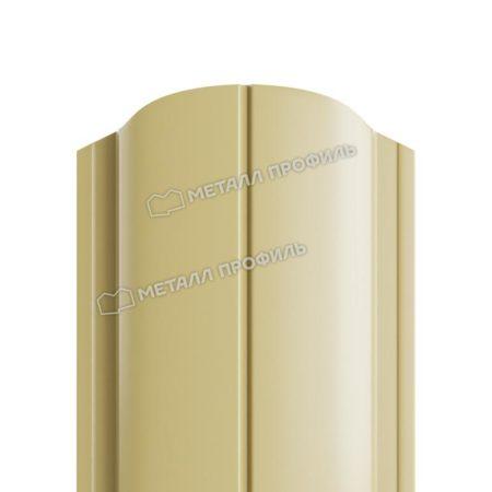 Штакетник металлический МП ELLIPSE 19х126 (ПЭ-01-1014-0.45)