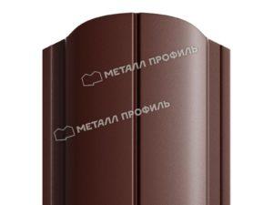 Штакетник металлический МП ELLIPSE 19х126 (PURETAN-20-8017-0.5)