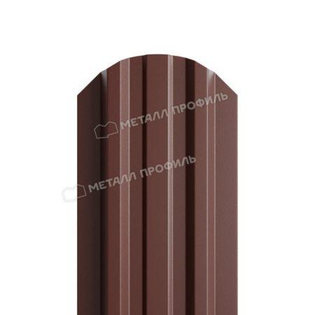 Штакетник металлический МП LАNE 16,5х99 (PURETAN-20-8017-0.5)