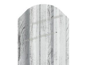 Штакетник металлический МП TRAPEZE 16,5х118 (ECOSTEEL_MA-01-Беленый Дуб-0.5)