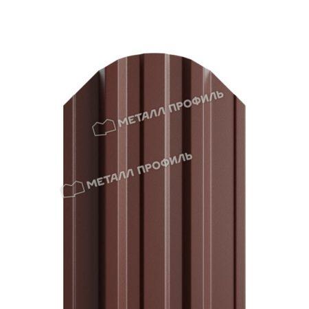 Штакетник металлический МП TRAPEZE 16,5х118 (PURETAN-20-8017-0.5)