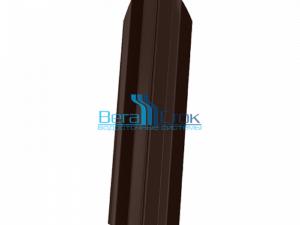 Металлический штакетник Вегаток ЭКОНОМ (ширина 76 мм)