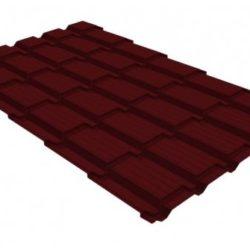Металлочерепица квадро профи 0,5 Satin