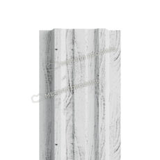 Штакетник металлический МП LАNE-T 16,5х99 (ECOSTEEL_MA-01-Беленый Дуб-0.5)