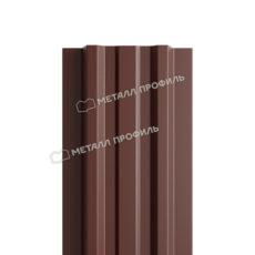 Штакетник металлический МП LАNE-T 16,5х99 (PURETAN-20-8017-0.5)