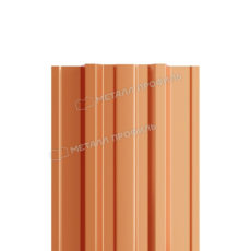 Штакетник металлический МП TRAPEZE-T 16,5х118 (AGNETA-20-CopperCopper-0.5)