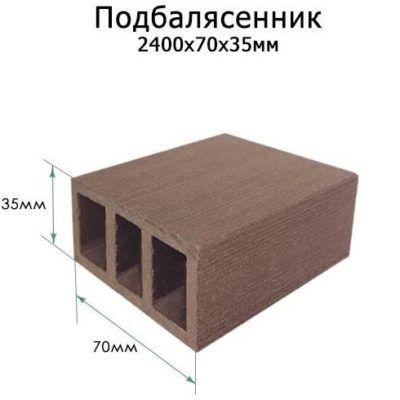 Ограждение ТЕРРАПОЛ Подбалясенник 70