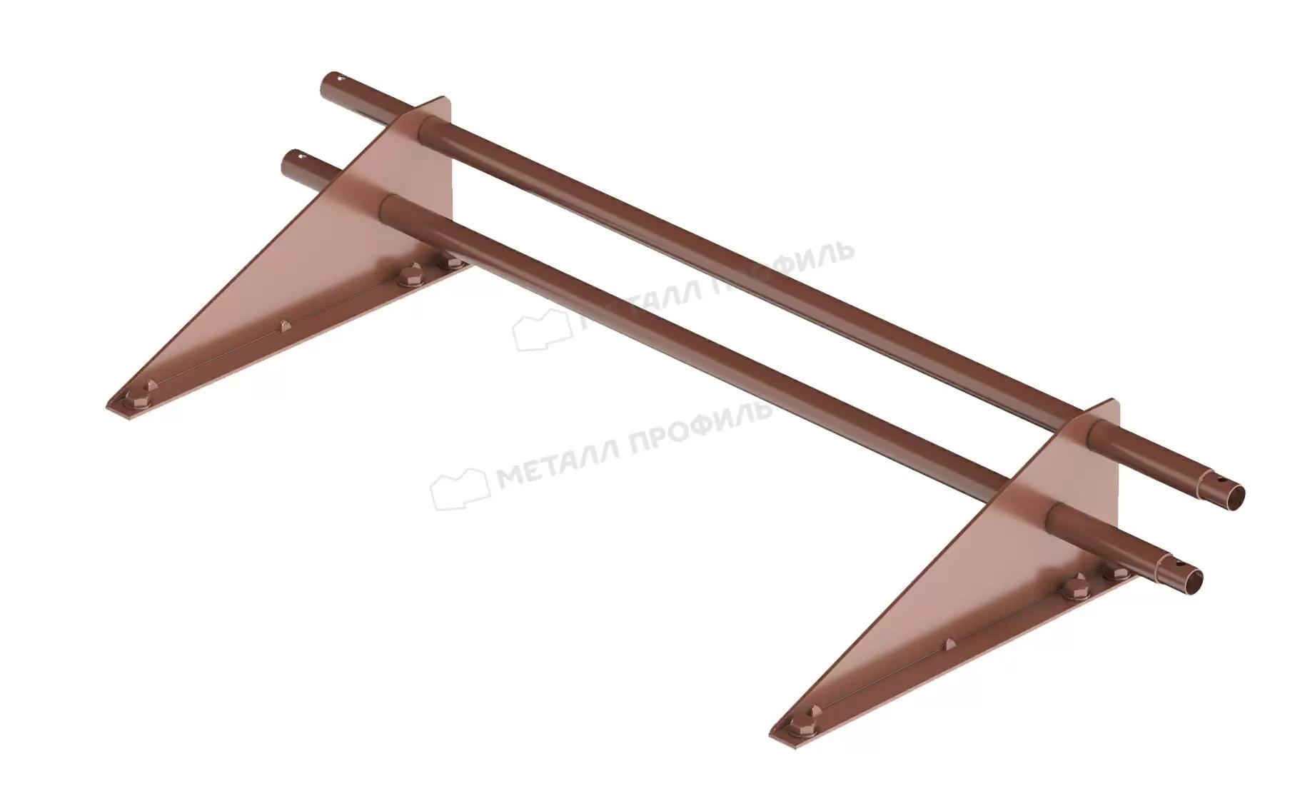 Распродажа! Снегозадержатель трубчатый дл. 1000 мм (8017) ROOFRetail