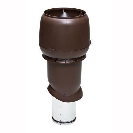 Труба изолированная вентиляционная с колпаком 160/225 H=500 мм Vilpe