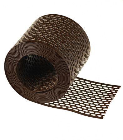 Лента карнизная вентиляционная коричневая (100х5000) Распродажа!