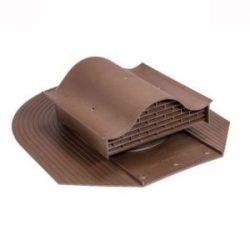 Вентилятор скатный HUOPA KTV без адаптера для мягкой кровли при монтаже Vilpe