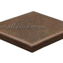 Клинкерная угловая ступень – флорентинер (9331) Asar 640  Stroeher