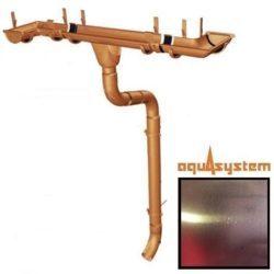 Aquasystem 125/90 мм CU-медь Classic