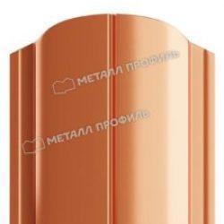 Штакетник металлический МП ELLIPSE 19х126 (ECOSTEEL_MA-01-Беленый Дуб-0.5)
