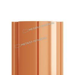 Штакетник металлический МП ELLIPSE-T 19х126 (AGNETA-20-CopperCopper-0.5)