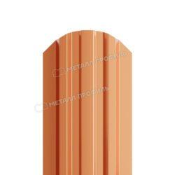 Штакетник металлический МП LАNE-O 16,5х99 (AGNETA-20-CopperCopper-0.5)