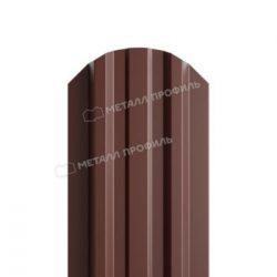 Штакетник металлический МП LАNE-O 16,5х99 (PURETAN-20-8017-0.5)