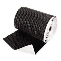 Лента для примыкания гофрированная алюминевая (0,3x5 м.) (кор. чёрн. кирпич.)
