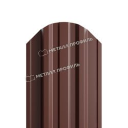 Штакетник металлический МП TRAPEZE-O 16,5х118 (PURETAN-20-8017-0.5)