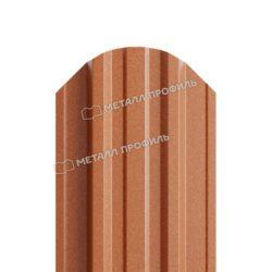 Штакетник металлический МП TRAPEZE-O 16,5х118 (PURMAN-20-Argillite-0.5)