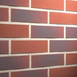 Фасадная клинкерная плитка Feldhaus Klinker R356NF9 carmesi antic liso