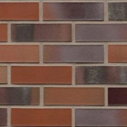 Клинкерная плитка Feldhaus Klinker R560NF14 carbona carmesi color