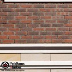 Клинкерная плитка Feldhaus Klinker R743NF14 vascu carmesi flores